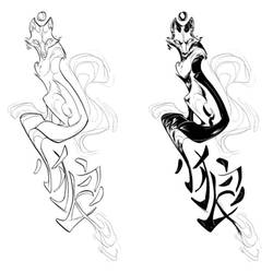 Tattoo design by GPinos