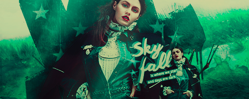 Skyfall | Signature by ElasticArt