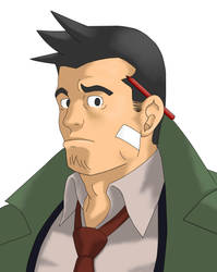 Dick Gumshoe Colored by Ddragoon
