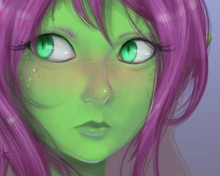 Nalica Portrait by AnimeFlux