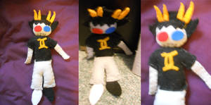 Sollux Plushie by ashe-the-hedgehog
