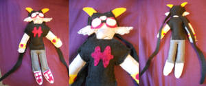 Meenah Plushie by ashe-the-hedgehog