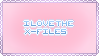 I love the X Files stamp by dead-coffee