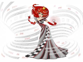 Web development Queen Design by GruberJan