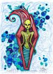 Rigor Mortis over the Sea by uvita