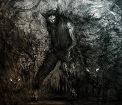 supernatural concept art by Ururuty