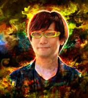 Hideo Kojima by Ururuty