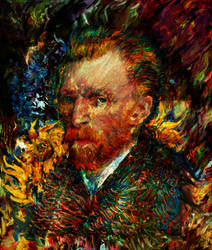 Vincent Van Gogh by Ururuty