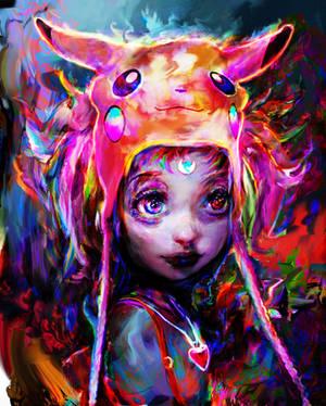 geek girl by Ururuty