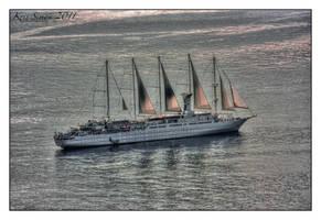 Setting sails by KrisSimon