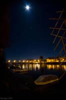 Night in Konstanz by KrisSimon
