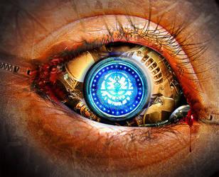 Steampunk Eye I by InfiniteCreations