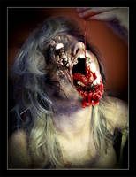 Zombie Self Eating by InfiniteCreations