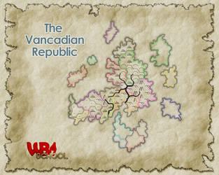 Vancadian Republic - Political by WorldBuilding