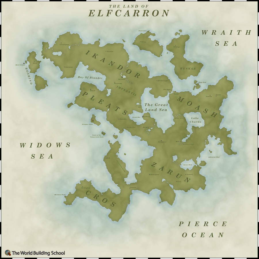 The Land Of Elfcarron by WorldBuilding