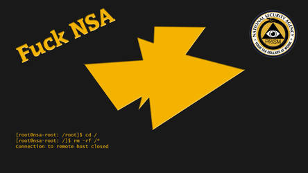 Fu** NSA Wallpaper by Kimmax3110