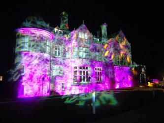 Beaulieu Christmas lights palace house by kirk12Lumiere