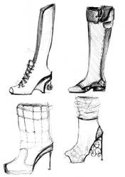 shoe design by neexa