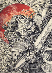 BULLETPUNK: The Tokugawa Temporal Breach Incident by Quiccs