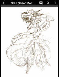 WIP - DeathSea Great Lord  by HanaJoka