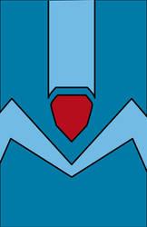 Megaman X minimalista by Ddgue
