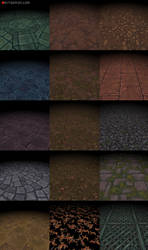 Bitgem Textures Vol.1-3 by tsabszy
