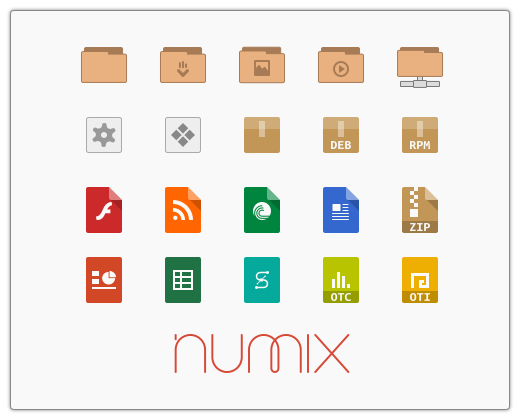 Numix icons by satya164