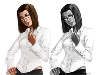 Carol Kishiro for VladDamien by mr-mister
