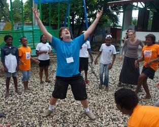John Paul in Haiti by johnpaulthornton