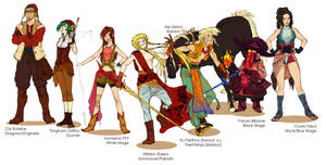 Final Fantasy bazillion by french-teapot
