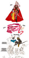 Final Fantasy concepts... again by french-teapot