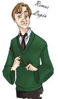 Remus Lupin_coloured by french-teapot
