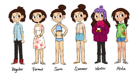 Outfits by french-teapot