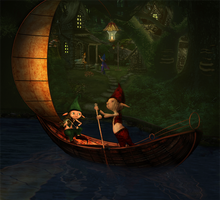 Fiddling Fairy by IZSTEVE