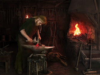 The Blacksmith Shop II by IZSTEVE