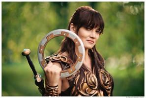 Cosplay - Xena warrior princess by Slava-Grebenkin