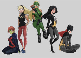 Young Justice by d-two