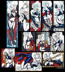 Lady Death Artist Exclusives by dsoloud