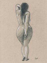 Female nude art #2 by emm-zi
