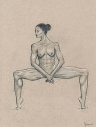 Female nude art #3 by emm-zi