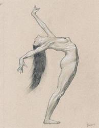 Female nude art #4 by emm-zi