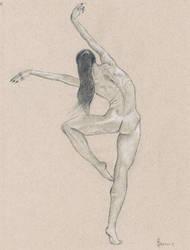 Female nude art #5 by emm-zi