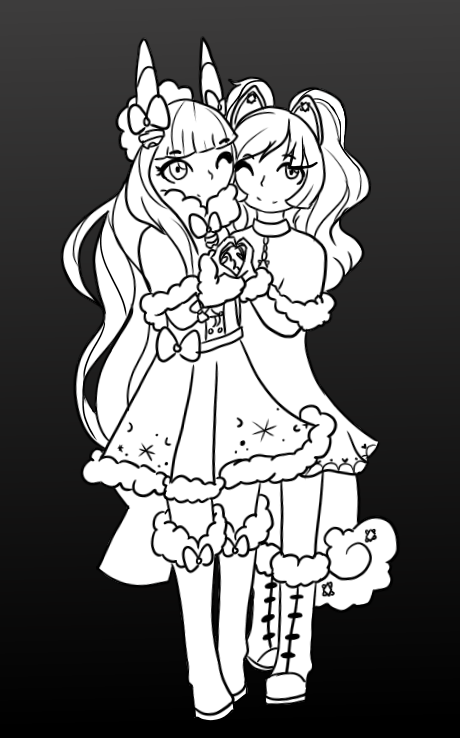 We Are Sisters We Stick Together By Inuinuie On Deviantart