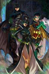 The Bat Family by ImperatorDavianus