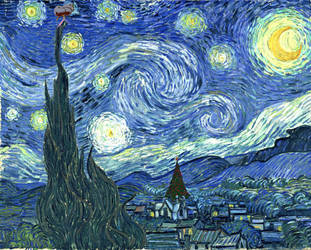 A Starry Night over Whoville by GraphicFeedback