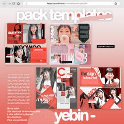 4 pack template yebin dia by CromwellXoxoLu
