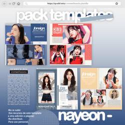 Pack templates interpretacion 4 nayeon by CromwellXoxoLu