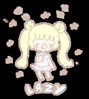 Sailor Moon  - lazy by Chocozombi