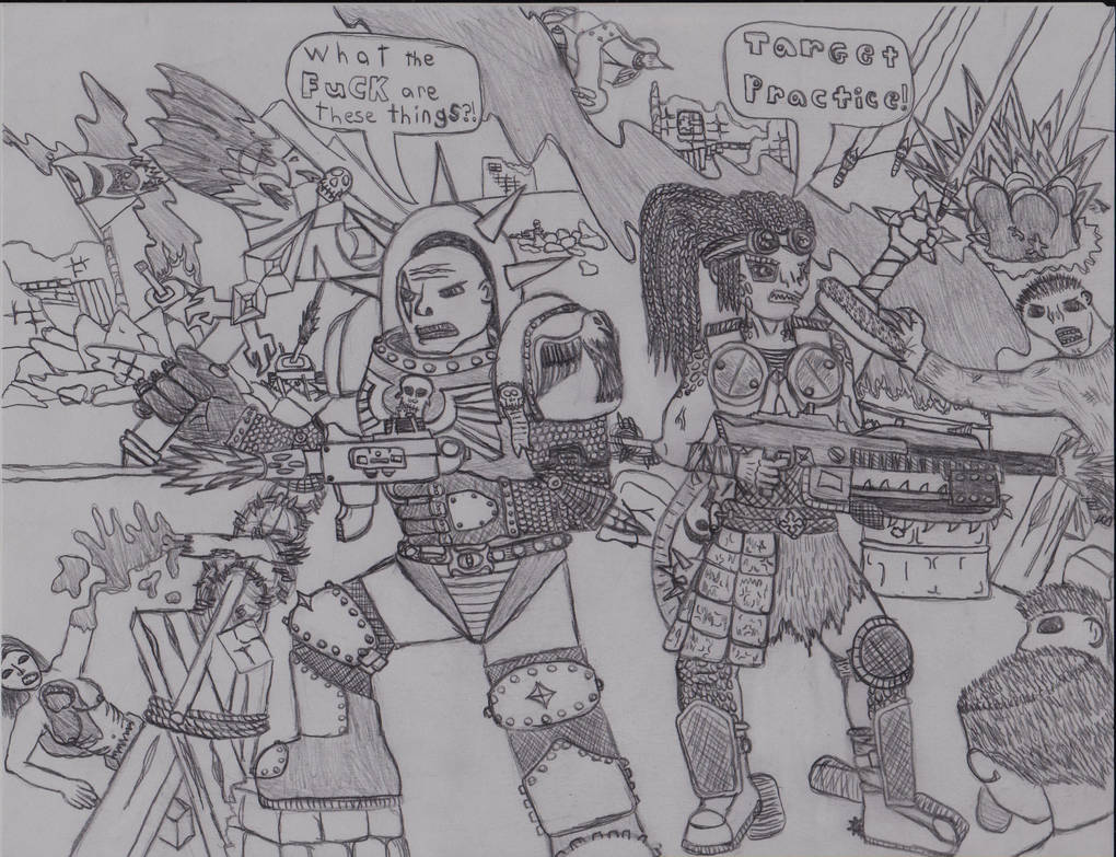 gears of war and warhammer 40k crossover by shaylore on deviantart