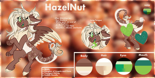 Ref Sheet | HazelNut by Tiz4905